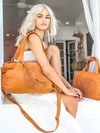 Stevie Leather Bag - Tan