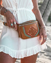 Savanna Bag  & Zara Purse -Tan