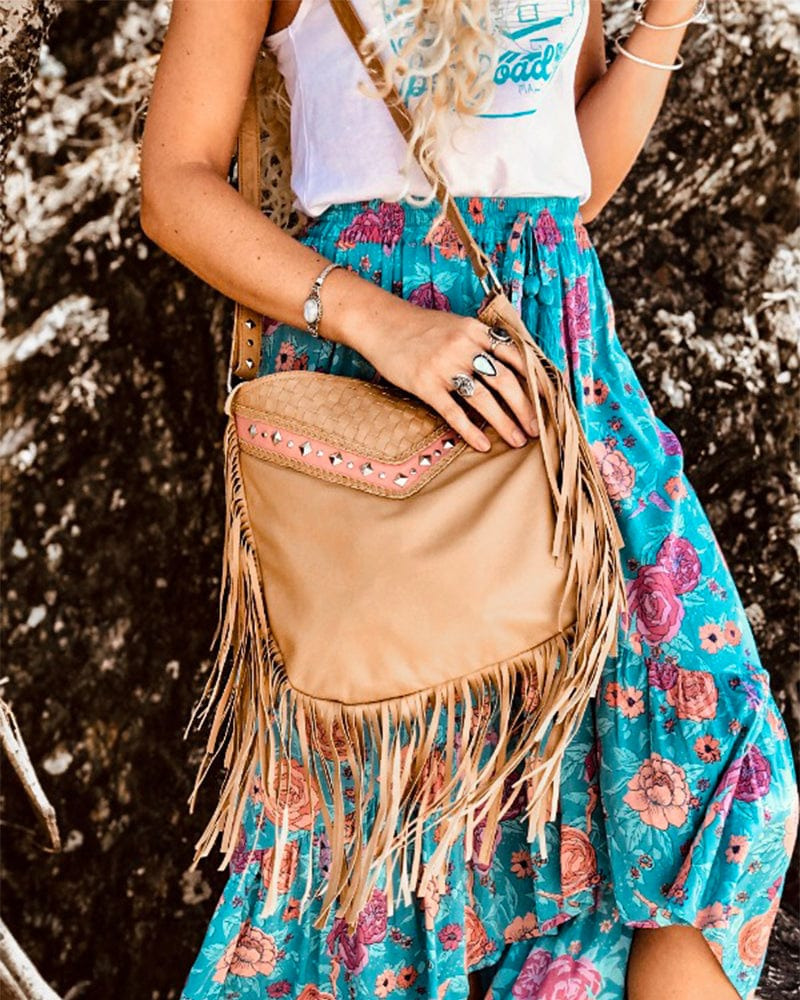 LUXE Boheme Bag Luxe - Nude and Salmon