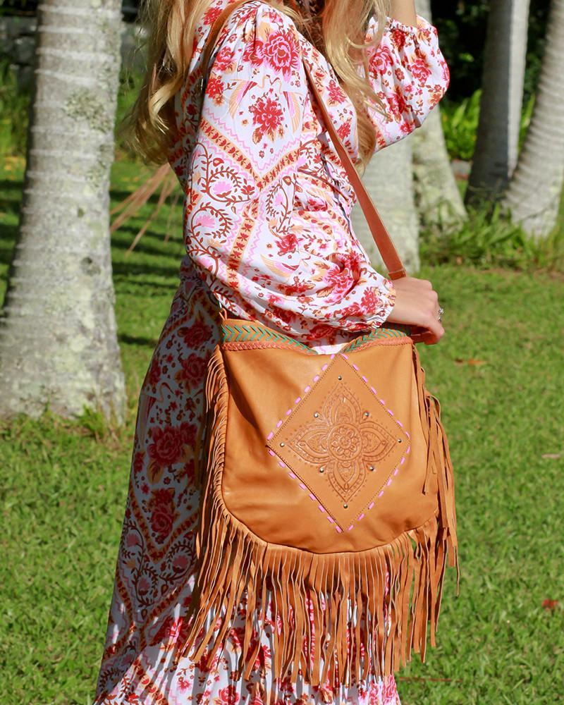 bohemian chic leather bags