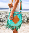 Capsize Leather Bag (Fringed)