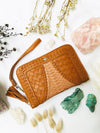 Vintage Rose Bag & Free Spirit Wallet Set  - Cream