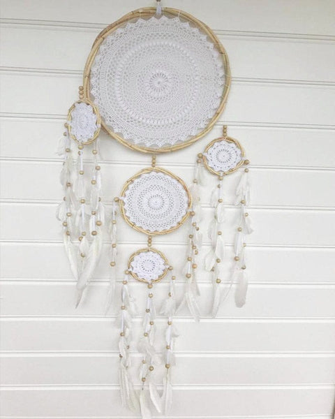 Dream Catcher Supplies Australia Large Crochet Dream Catcher SHOP Mahiya 23