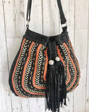 leather drawstring purses