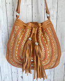 chic tan leather bags