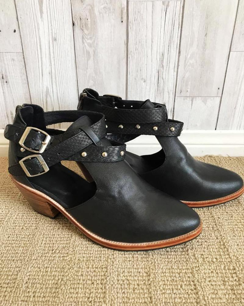 leather ankle boots australia