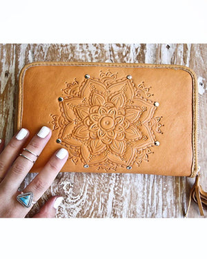 mahiya leather wallet