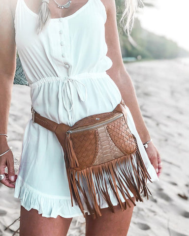 Free As A Bird Earth Bag - Tan