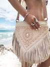 Sienna Boho Bag - Cream