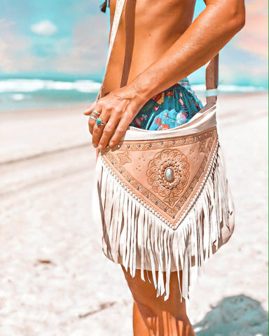 Dream Weaver Bag (Fringe free)- Turquoise