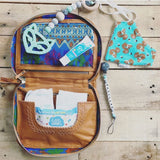 bohemian leather nappy bag
