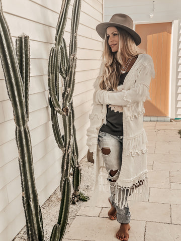 Alita Fringed Crop Top