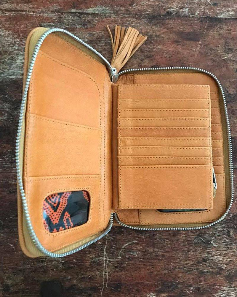 leather festival wallets australia