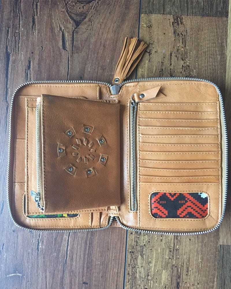 boho leather wallets australia