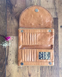 THE ELIKI TAN LEATHER WALLET FROM MAHIYA. 3