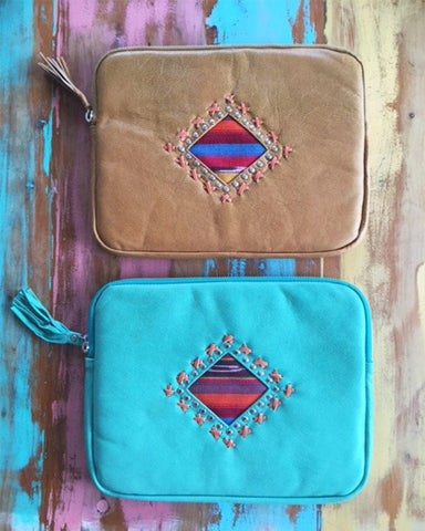 Mandala iPhone  Leather Case - MAHIYA EXCLUSIVE