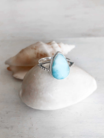 Oceans Larimar Necklace