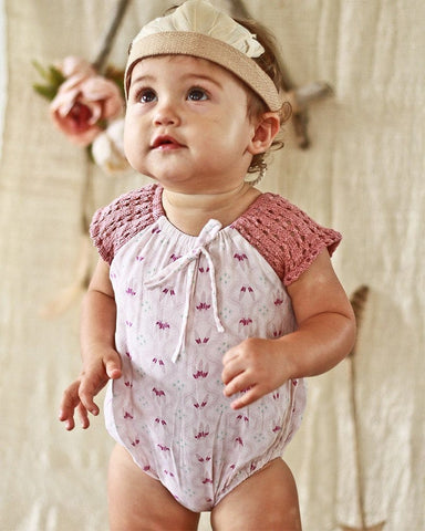 Little Gypsy Onesie - Berries and Cream