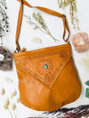 Stevie Leather Bag - Chocolate