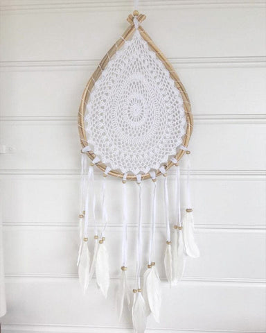 Round Crochet Dream Catcher