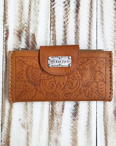Wanderlust Wallet - Tan