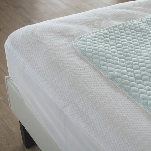 All Purpose Bed Pad - Pale Blue