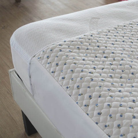 Linen Saver with Tuck-Ins Bed Pad