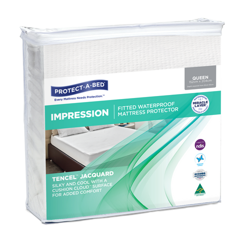 Impression Waterproof Fitted Mattress Protector