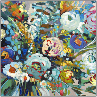Arrangement canvas painting