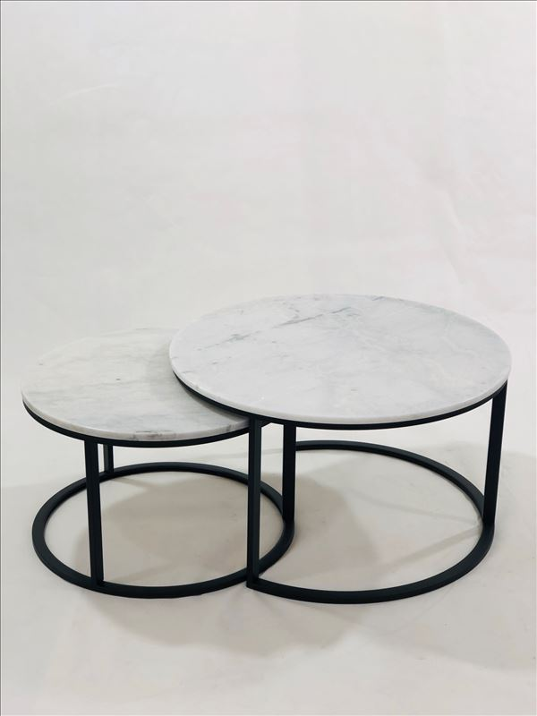 Eddie Coffee table set black
