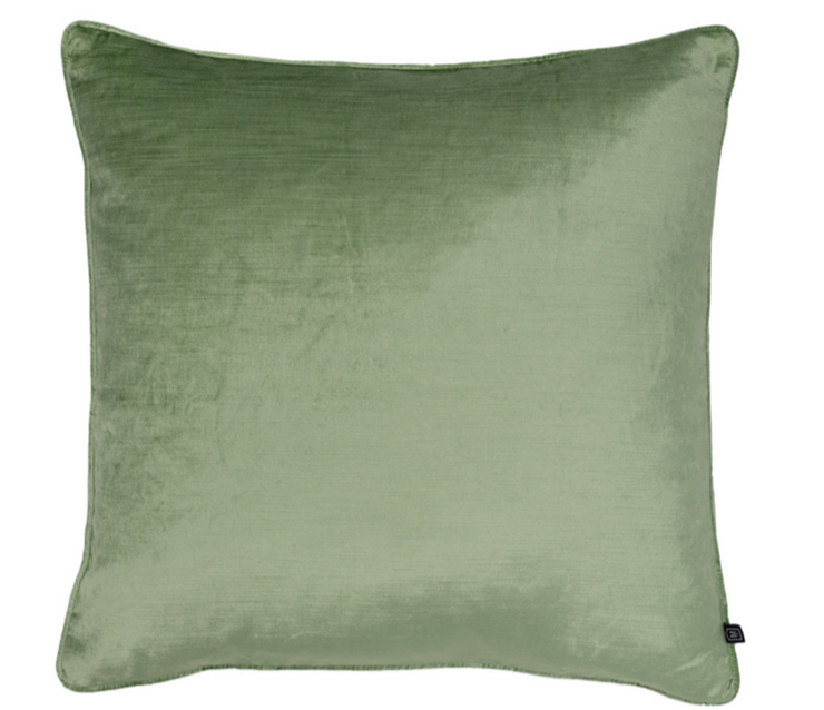 Roma pistachio cushion 55cm feather insert