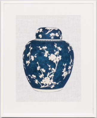 Blue and white ginger jar 1 print FREE LOCAL DELIVERY AVAILABLE