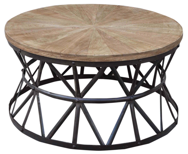 Tower Coffee table cast iron