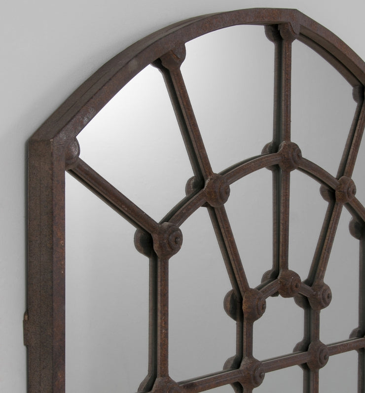 Arched gate mirror