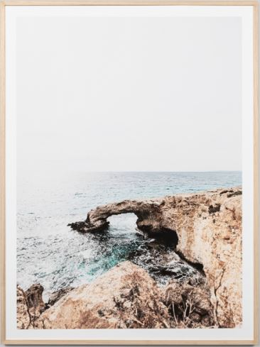 Ragged Arch framed print