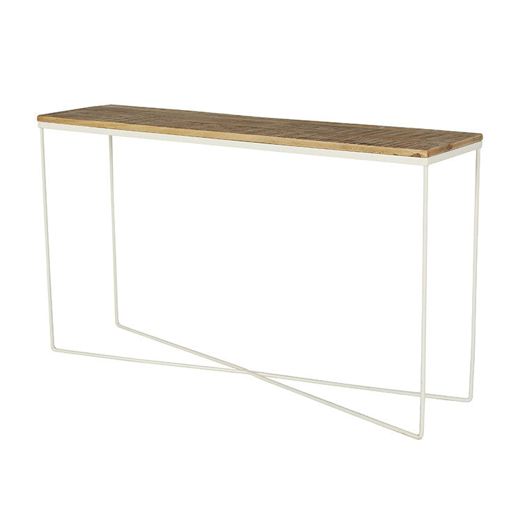 FLINDERS CONSOLE NAT/WHITE