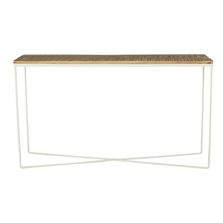 Flinders Console table white