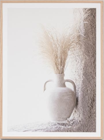 Country vase framed print- FREE LOCAL DELIVERY AVAILABLE