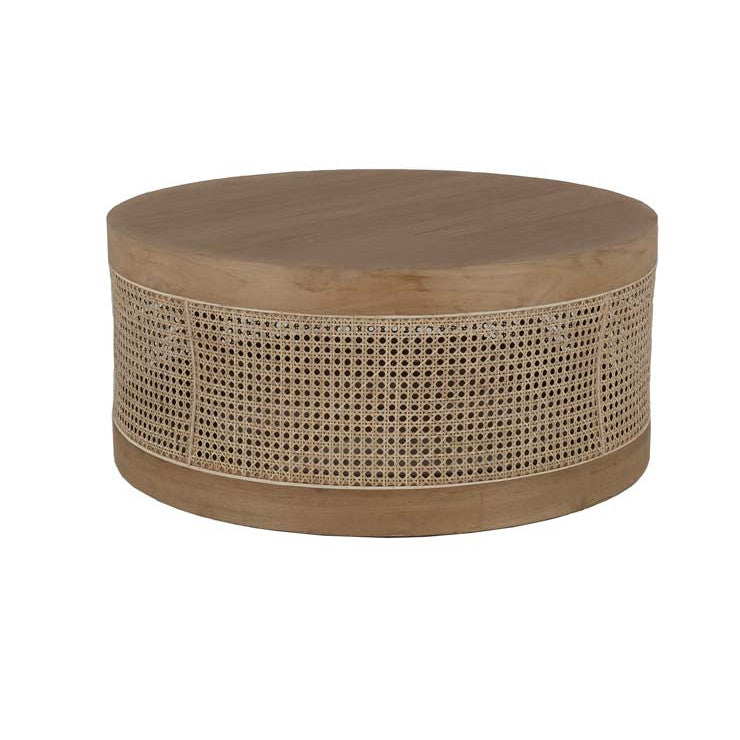 Anja woven coffee table