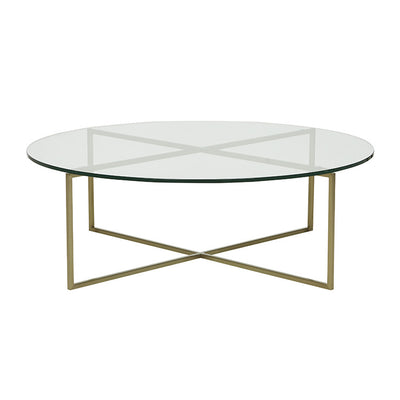 Elle Luxe Round Coffee Table 1090mm Diameter