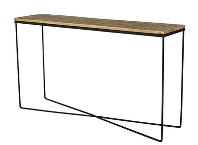 Flinders console table black