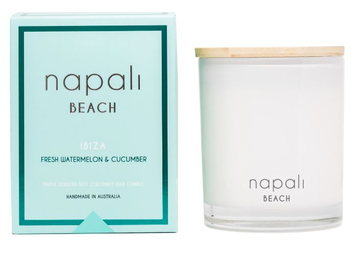 Napali Ibiza Candle- Cucumber and Watermelon
