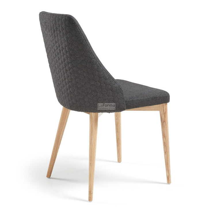Roxie Dining chair charcoal