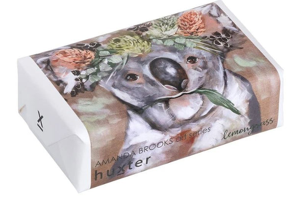 Huxter All natural soap- Rainmaker Koala- Lemongrass