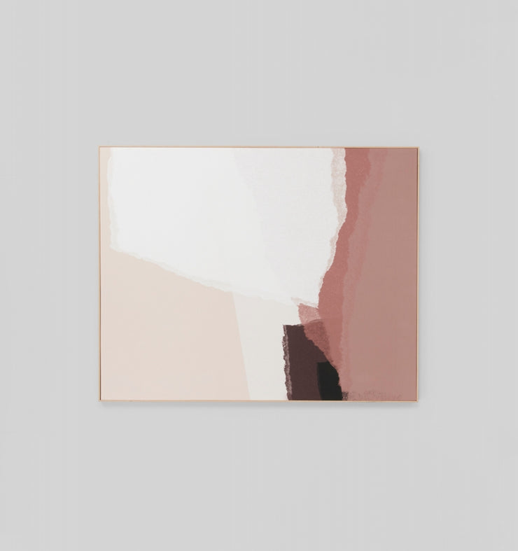 Torn Blush canvas print - SHIP DIRECT OR LOCAL CLICK AND COLLECT