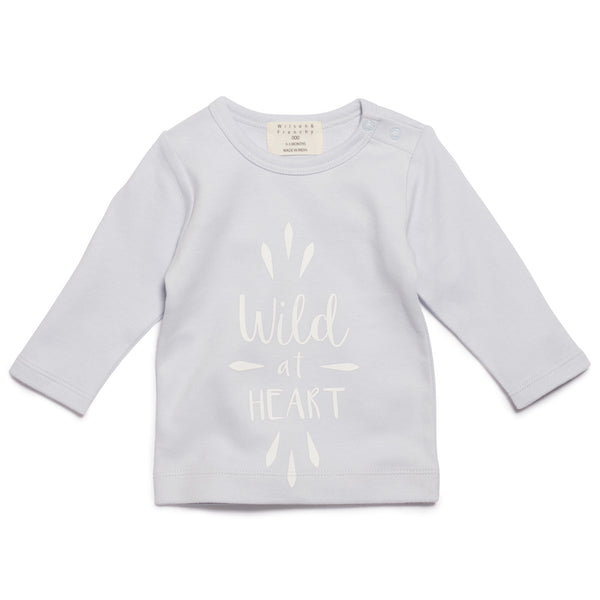 Wilson & Frenchy Wild at Heart Long Sleeve Top