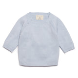 Wilson & Frenchy Cashmere Blue Knitted Jumper