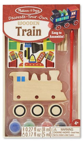 Melissa & Doug DYO Wooden Train