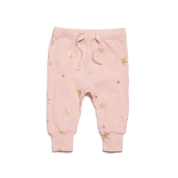 Wilson & Frenchy Pink Star Bright Legging