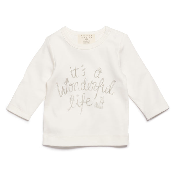 Wilson & Frenchy Wonderful Life Long Sleeve Top